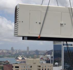1250kVA STANDBY POWER GENERATING SET - NORTH SYDNEY CBD BUILDING