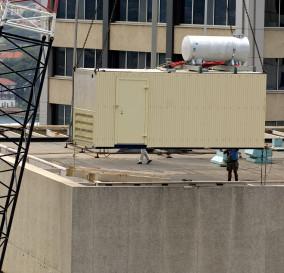 NEW STANDBY POWER GENERATING SET - SYDNEY CBD BUILDING