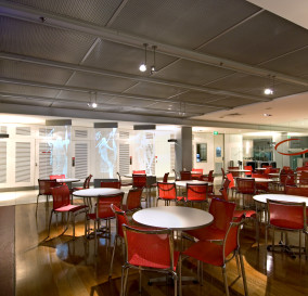 CAFE AREA LIGHTING - CORPORATE TECHNOLOGY FACILITY SYDNEY