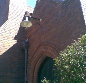 BESPOKE EXTERIOR LUMINARES FOR CHURCH - LOWER NORTH SHORE SYDNEY