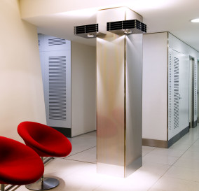 TYPICAL CORRIDOR LIGHTING - CORPORATE TECHNOLOGY FACILITY SYDNEY