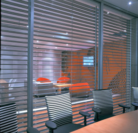 TYPICALLY ILLUMINATED MEETING ROOM - CORPORATE TECHNOLOGY FACILITY SYDNEY