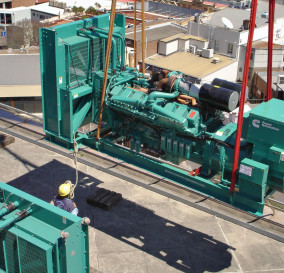 THREE NEW PARALLELED GENERATING SETS - MISSION CRITICAL SITE SOUTHERN SYDNEY AREA
