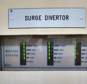 TRANSIENT VOLTAGE SURGE SUPPRESSION UNIT IN MAIN SWITCHBOARD - SYDNEY