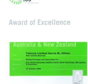 IES AWARD OF EXCELLENCE