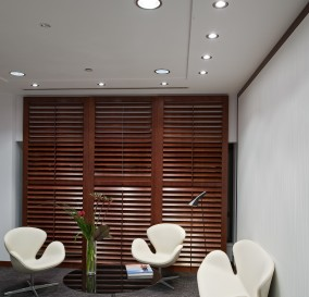 LIGHTING OF EXECUTIVE WAITING AREA - SYDNEY CBD OFFICE BUILDING