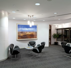LIGHTING OF WAITING LOUNGE TO EXECUTIVE AREA - SYDNEY CBD OFFICE BLOCK