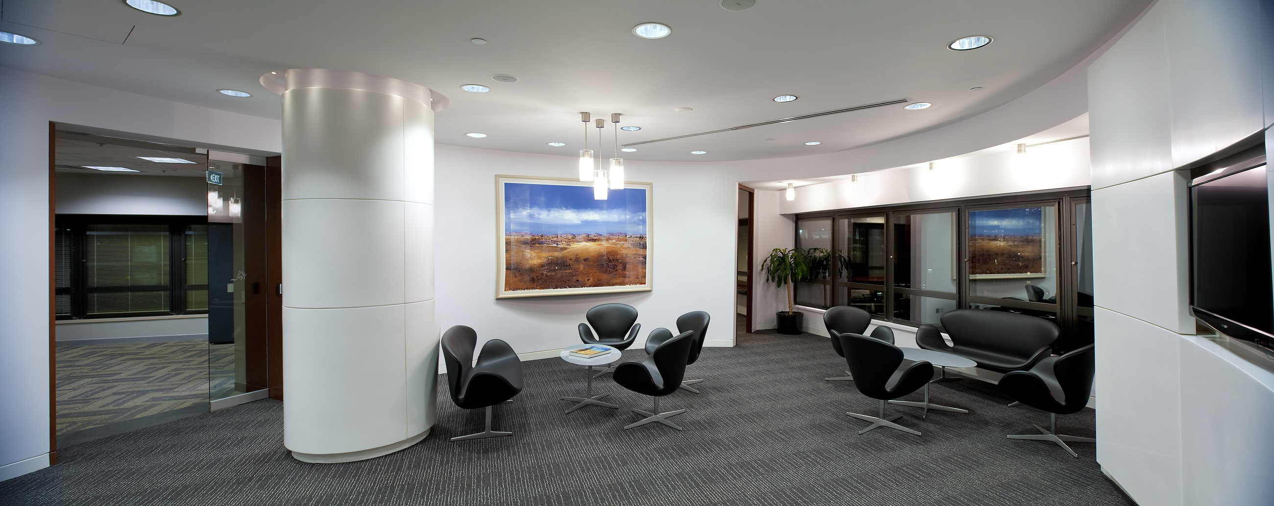 Gallery richard earngey associates for Executive office design gallery